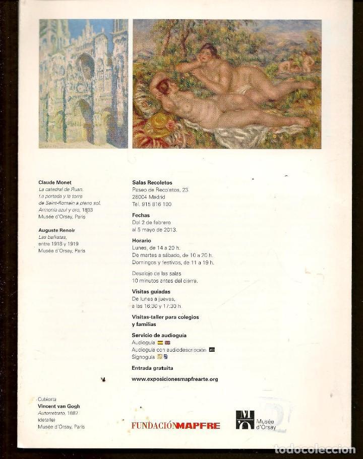 Arte: CATÁLOGO: IMPRESIONISTAS Y POSTIMPRESIONISTAS. FUNDACIÓN MAPFRE. (B/A58.1) - Foto 2 - 218391258