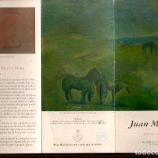 Arte: TRIPTICO: JUAN MESTRE. AGENDA DE NUEVA YORK. REAL MAESTRANZA DE CABALLERIA. SEVILLA, 2007.(B/A58.1). Lote 218391652