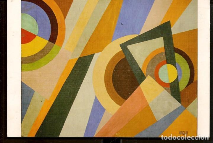 TARJETA: INVITACIÓN INAUGURACIÓN EXPOSICIÓN: VIRGILIO VALLMAJÓ. SEVILLA, 2007. (B/A58.1) (Arte - Catálogos)