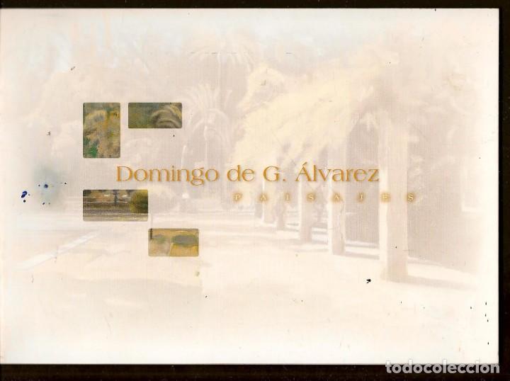 CATÁLOGO (GRAPA): DOMINGO DE G. ÁLVAREZ. EXPOSICIÓN. SEVILLA, 2008, (B/A58.1) (Arte - Catálogos)