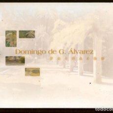 Arte: CATÁLOGO: DOMINGO DE G. ÁLVAREZ. EXPOSICIÓN. SEVILLA, 2008, (B/A58.1). Lote 218402580