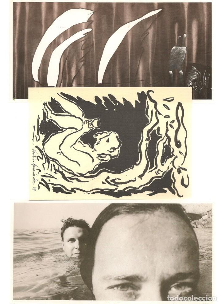 Arte: TARJETAS: ANTONIO SOCIAS. SOBRE Y SEIS TARJETAS OBRAS DEL AUTOR. SEVILLA, 1988. (B/A58.1) - Foto 2 - 218417058