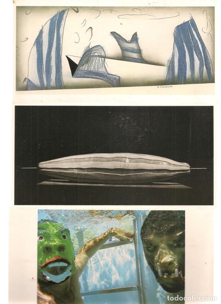 Arte: TARJETAS: ANTONIO SOCIAS. SOBRE Y SEIS TARJETAS OBRAS DEL AUTOR. SEVILLA, 1988. (B/A58.1) - Foto 3 - 218417058