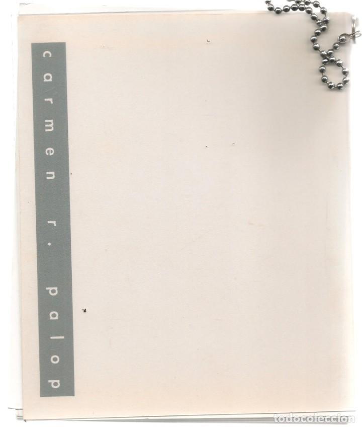 TARJETAS: CARMEN R. PALOP. ARCHIVO Y 29 TARJETAS OBRAS DEL AUTOR. (B/A58.1) (Arte - Catálogos)