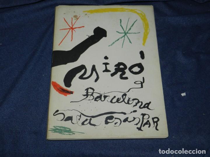 Arte: (M) JOAN MIRÓ OBRA INÉDITA RECIENTE + MIRÓ ALBUM 19 , SALA GASPAR 1964, JOAN BROSSA - Foto 2 - 218672912