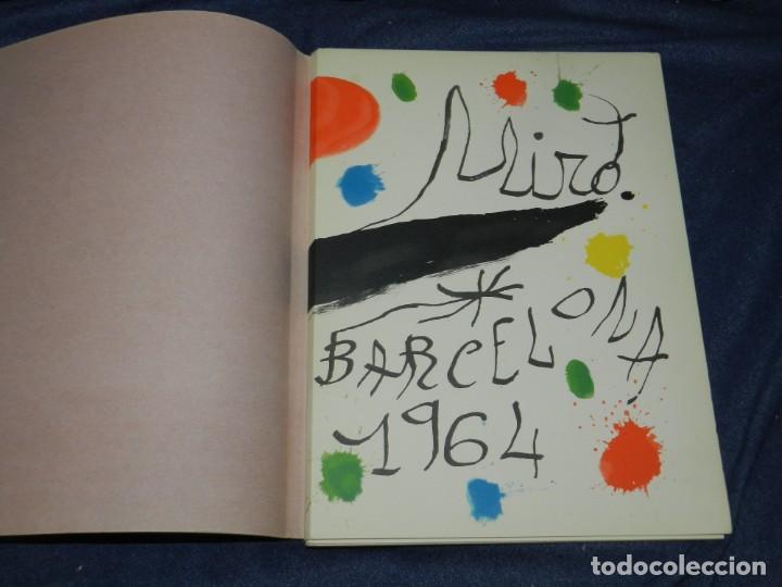 Arte: (M) JOAN MIRÓ OBRA INÉDITA RECIENTE + MIRÓ ALBUM 19 , SALA GASPAR 1964, JOAN BROSSA - Foto 4 - 218672912