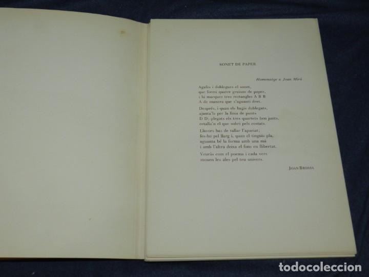 Arte: (M) JOAN MIRÓ OBRA INÉDITA RECIENTE + MIRÓ ALBUM 19 , SALA GASPAR 1964, JOAN BROSSA - Foto 5 - 218672912