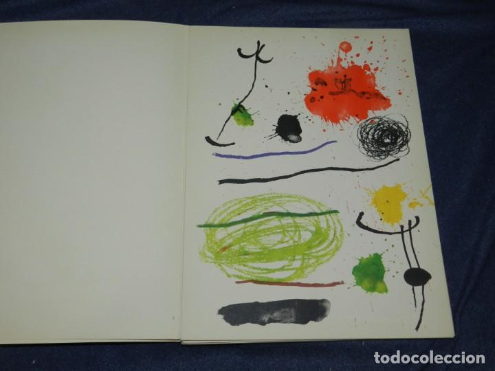 Arte: (M) JOAN MIRÓ OBRA INÉDITA RECIENTE + MIRÓ ALBUM 19 , SALA GASPAR 1964, JOAN BROSSA - Foto 6 - 218672912