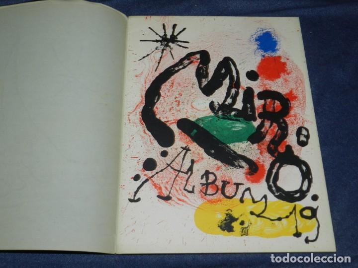 Arte: (M) JOAN MIRÓ OBRA INÉDITA RECIENTE + MIRÓ ALBUM 19 , SALA GASPAR 1964, JOAN BROSSA - Foto 12 - 218672912
