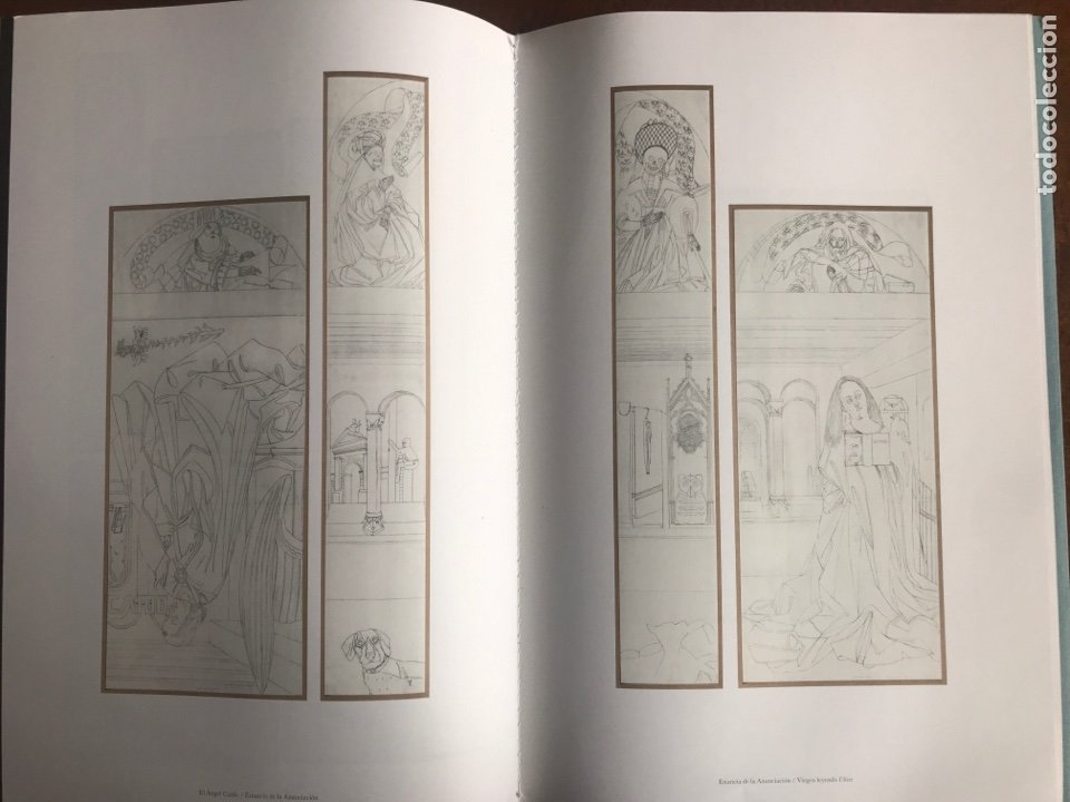 Arte: Envío 8€. Catalogo EDUARDO ARROYO EL CORDERO MISTICO. 24 PÁGINAS mas cubirtas 39X 26.cm museo del.. - Foto 3 - 218699421