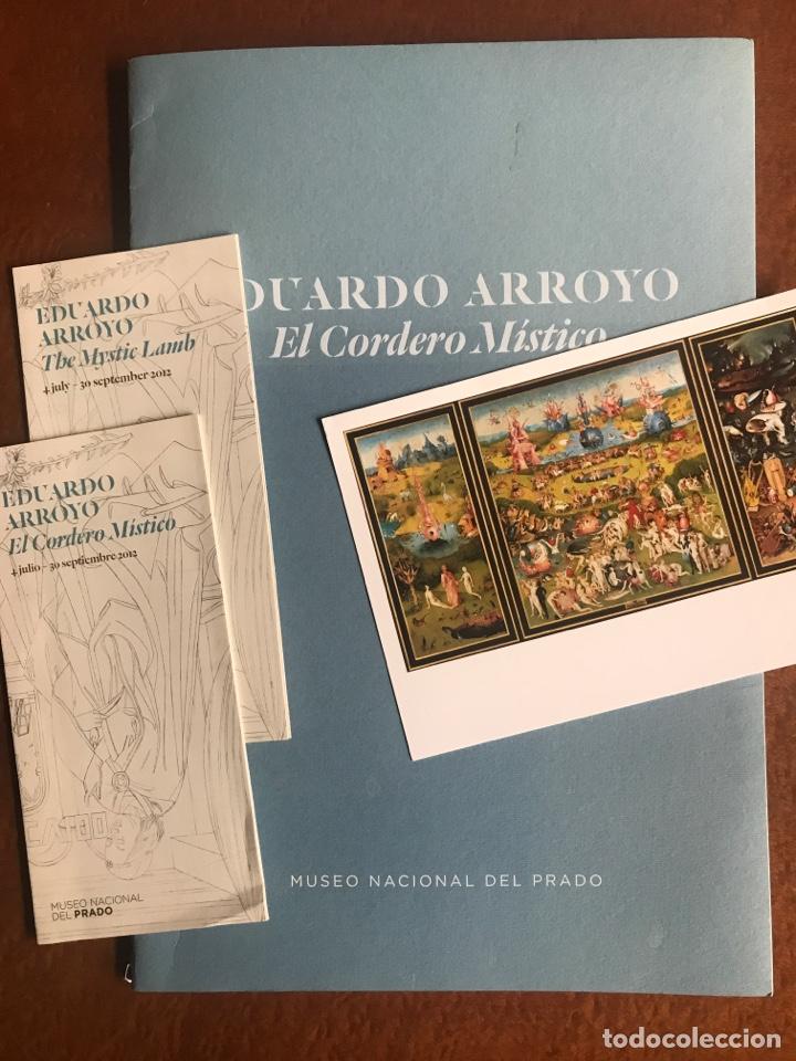 ENVÍO 8€. CATALOGO EDUARDO ARROYO EL CORDERO MISTICO. 24 PÁGINAS MAS CUBIRTAS 39X 26.CM MUSEO DEL.. (Arte - Catálogos)