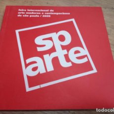 Arte: FEIRA INTERNACIONAL DE ARTE MODERNA E CONTEMPORÂNEA DE SÂO PAULO, 2005. Lote 218781822