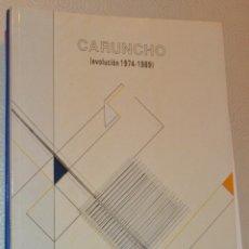 Arte: CARUNCHO - EVOLUCIÓN - 1974/1989 - SALA CAI LUZÁN- ZARAGOZA 1989. Lote 218995492