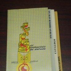 Arte: SURREALISMO EN ESPAÑA. GALERIA MULTITUD (MADRID). 1975. CATÁLOGO EXPOSICIÓN.. Lote 219268506