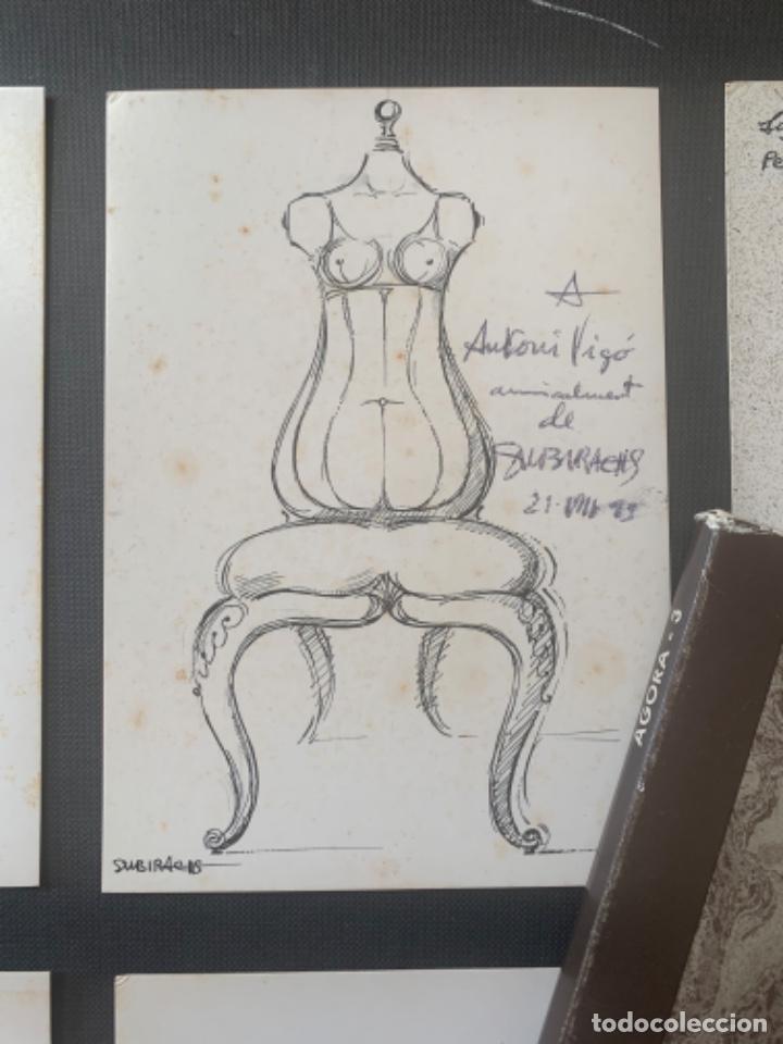 CATÁLOGO SUBIRACHS DEDICADO Y FIRMADO GALERIA AGORA 3 (Arte - Catálogos)