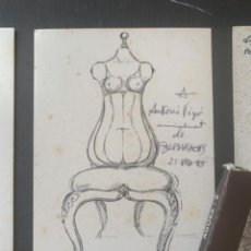 Arte: CATÁLOGO SUBIRACHS DEDICADO Y FIRMADO GALERIA AGORA 3. Lote 219838435