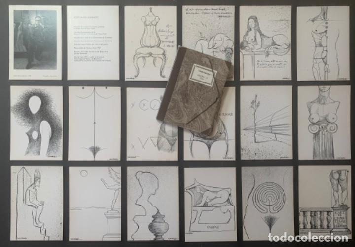 Arte: CATÁLOGO SUBIRACHS DEDICADO Y FIRMADO GALERIA AGORA 3 - Foto 2 - 219838435