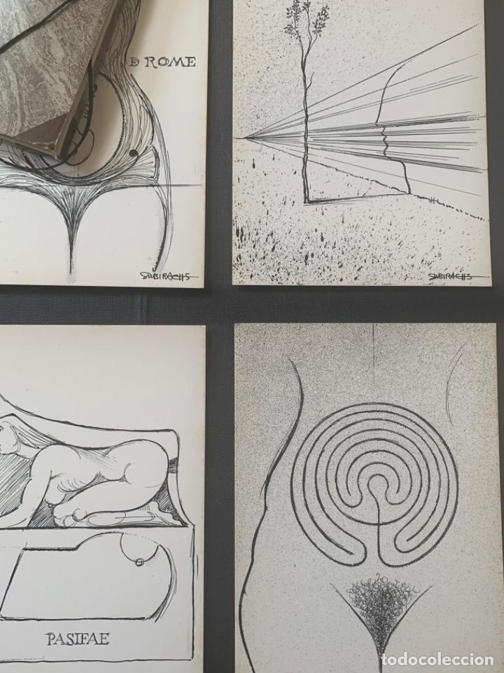 Arte: CATÁLOGO SUBIRACHS DEDICADO Y FIRMADO GALERIA AGORA 3 - Foto 7 - 219838435
