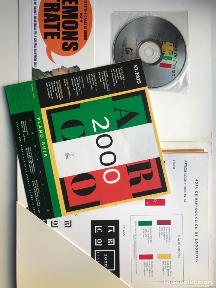 Arte: Envió 8€. Dossier de prensa completo de ARCO 2000. Un documento único para coleccionistas de arte - Foto 2 - 221537092
