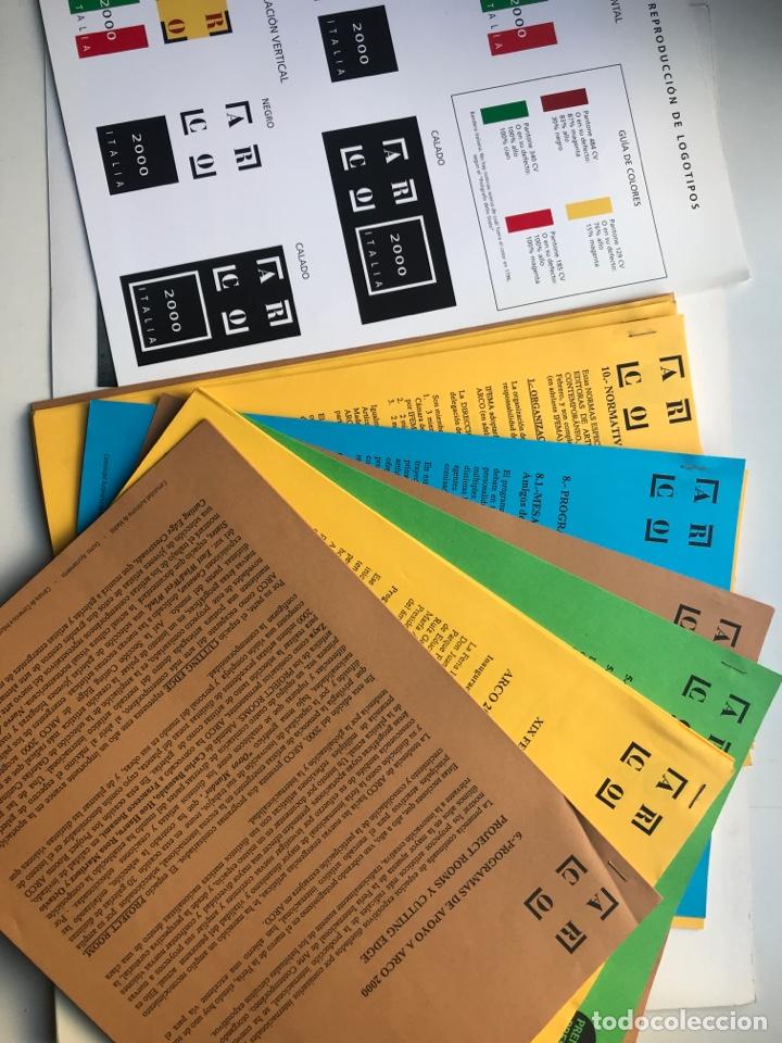 Arte: Envió 8€. Dossier de prensa completo de ARCO 2000. Un documento único para coleccionistas de arte - Foto 3 - 221537092