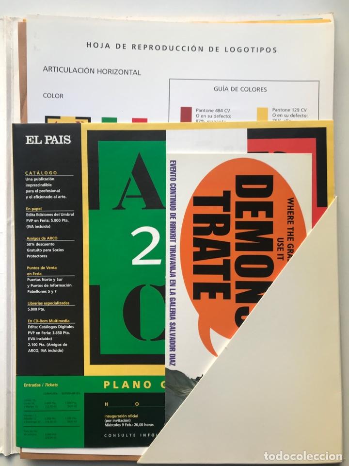 Arte: Envió 8€. Dossier de prensa completo de ARCO 2000. Un documento único para coleccionistas de arte - Foto 5 - 221537092