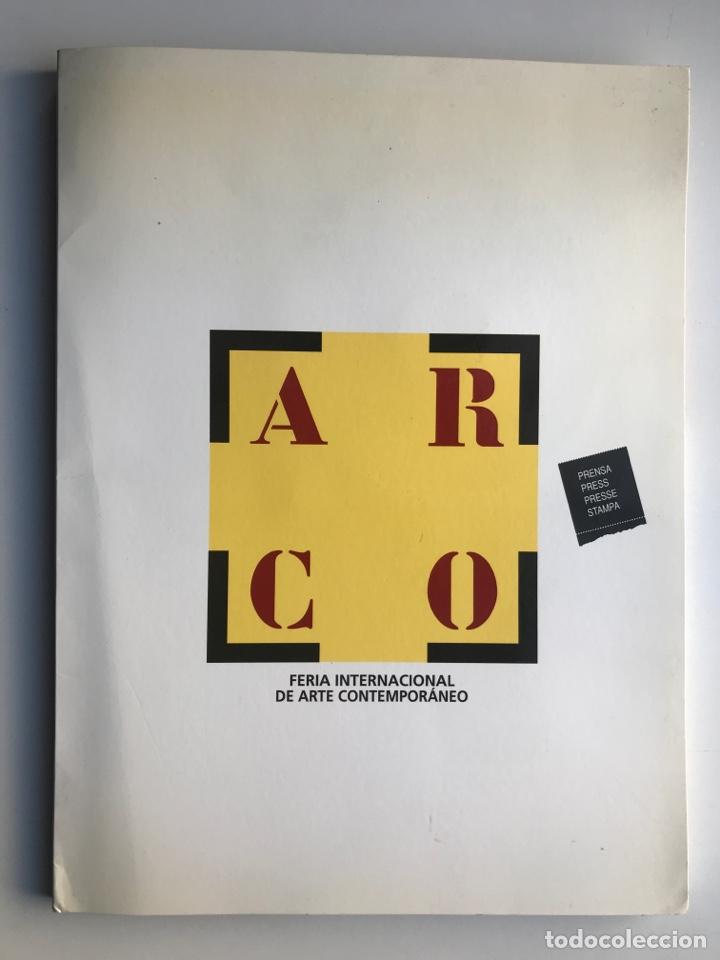 ENVIÓ 8€. DOSSIER DE PRENSA COMPLETO DE ARCO 2000. UN DOCUMENTO ÚNICO PARA COLECCIONISTAS DE ARTE (Arte - Catálogos)