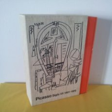 Arte: COLECCION MUSEO PICASSO DE MALAGA SIGLO XX,1901-1972 ( 2 TOMOS) - TF EDITORES. Lote 221632598