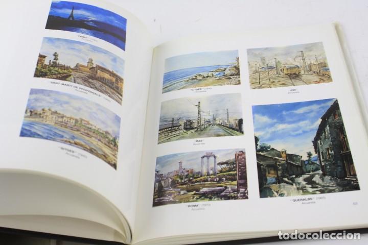 Arte: Catálogo M. Bordallo, Rafael Manzano, Francesc Galí, con dibujo y dedicatoria del artista. - Foto 3 - 221887062