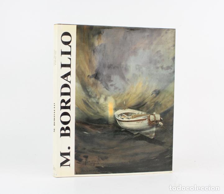 CATÁLOGO M. BORDALLO, RAFAEL MANZANO, FRANCESC GALÍ, CON DIBUJO Y DEDICATORIA DEL ARTISTA. (Arte - Catálogos)