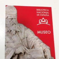 Arte: FOLLETO BIBLIOTECA NACIONAL ESPAÑA MUSEO 2015. Lote 221956955