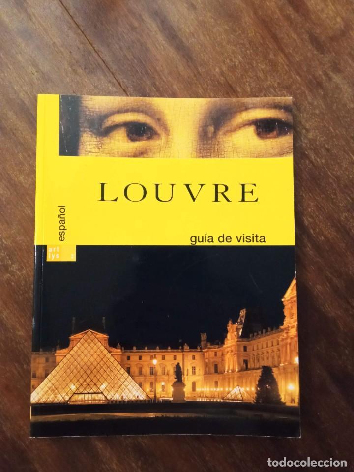 CATÁLOGO GUÍA DE LA VISITA AL LOUVRE. ESPAÑOL (Arte - Catálogos)