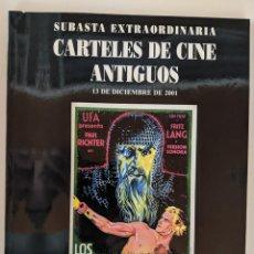 Arte: 2001 CATALOGO 13 DE DICIEMBRE SOLER Y LLACH - SUBASTA CARTELES DE CINE ANTIGUOS. Lote 222451423