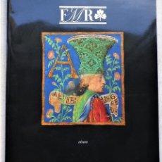 Arte: REVISTA DE ARTE Y CULTURA, FMR Nº 5, FEBRERO MARZO 2005. Lote 222559086