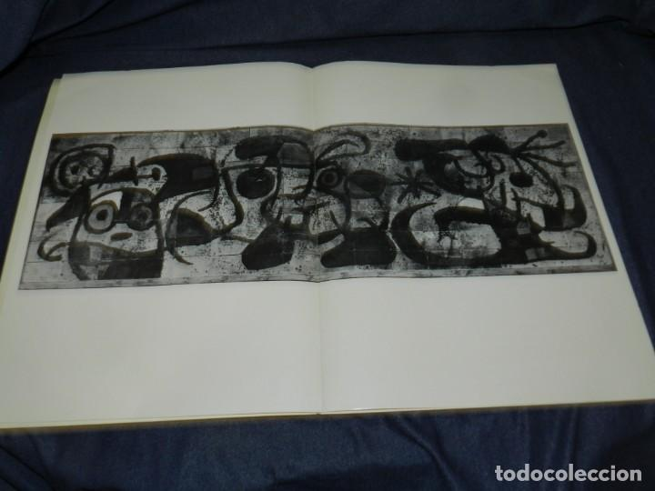 Arte: (M) DERRIERE LE MIROIR - CERAMIQUE MURALE POUR HARVARD JOAN MIRO , MAEGHT EDT 1961 NUM 123 10 PAG, - Foto 2 - 222813373