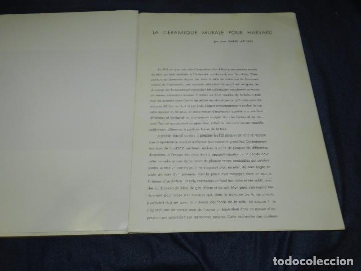 Arte: (M) DERRIERE LE MIROIR - CERAMIQUE MURALE POUR HARVARD JOAN MIRO , MAEGHT EDT 1961 NUM 123 10 PAG, - Foto 3 - 222813373