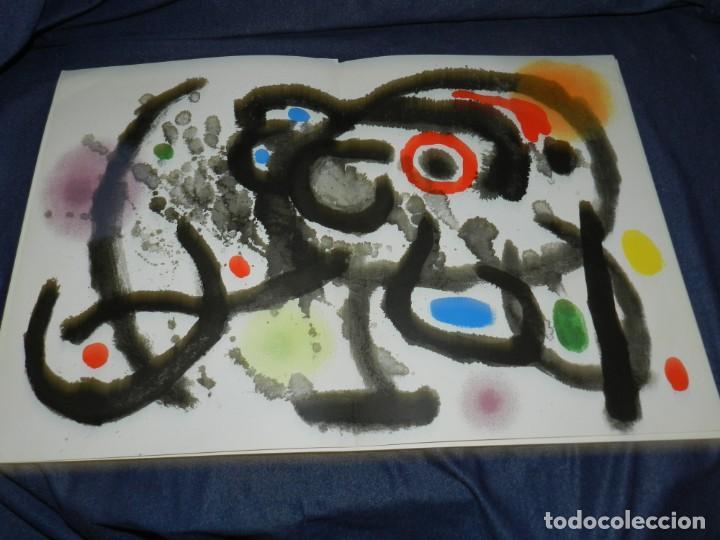Arte: (M) DERRIERE LE MIROIR - CERAMIQUE MURALE POUR HARVARD JOAN MIRO , MAEGHT EDT 1961 NUM 123 10 PAG, - Foto 4 - 222813373