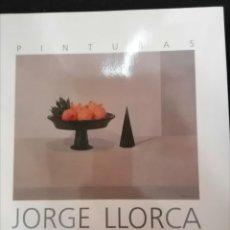 Arte: JORGE LLORCA CATALOGO CASA DE GALICIA MADRID 20 PG. Lote 223502972