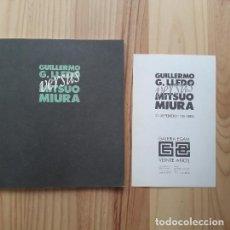Arte: GUILLERMO G. LLEDO VERSUS MITSUO MIURA (GALERÍA EGAM 1989). Lote 224473137