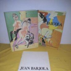 Arte: JUAN BARJOLA - 3 LIBROS - LEER DESCRIPCION. Lote 224946735