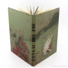 Arte: LA CLAU DEL FOC, 1973, ANTONI TÀPIES, PERE GIMFERRER, EDICIONS POLÍGRAFA, BARCELONA. 35X25,5CM. Lote 225249465