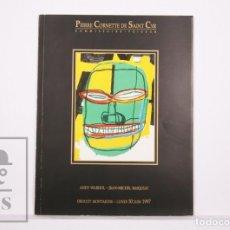 Arte: CATÁLOGO SUBASTA ANDY WARHOL & JEAN-MICHEL BASQUIAT - P CORNETTE DE SAINT CYR - DROUT MONTAIGNE,1997. Lote 226505675