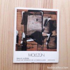 Art: MOLEZÚN - SALA CAI LUZÁN - ZARAGOZA 1979. Lote 227027690