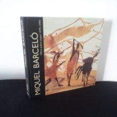 Arte: MIQUEL BARCELO - OBRA SOBRE PAPEL 1979-1999 - ALDEASA MADRID 1999. Lote 228325190