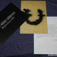 Arte: (M) EDUARDO ARROYO - JOAN BROSSA - TACHÉ EDITOR HIERRO DE CABALLO 1994, BUEN ESTADO. Lote 229192650