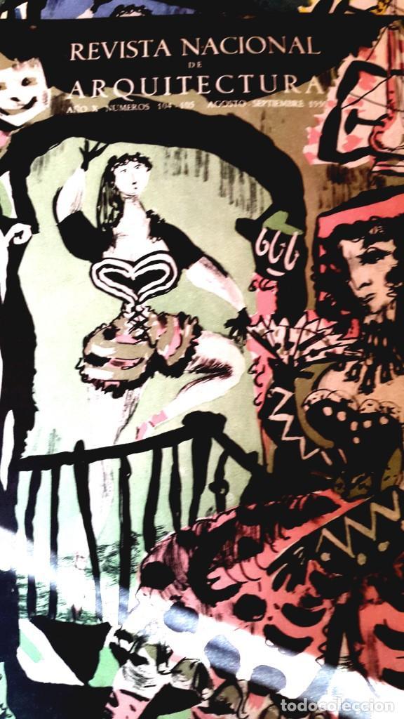 Arte: DALÍ - SALVADOR DALÍ Y EL TEATRO - ARTÍCULO - REVISTA NACIONAL DE ARQUITECTURA - 1950 - Foto 3 - 230015845