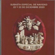 Arte: CATALOGO PINTURA ANTIGUA SIGL0 XIX ARTE CONTEMPORANEO DECORATIVAS ESCULTURA MUEBLES JOYAS RELOJES. Lote 230279110