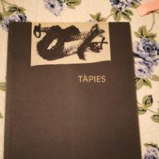 Arte: TAPIES CATALGO ARTE LIBROS ARTE EXPOSICION BELLAS ARTES COLECCION LIBROS. Lote 233183315