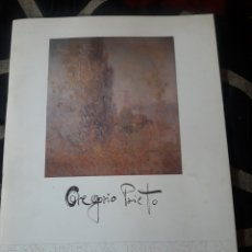 Arte: CATÁLOGO DE GREGORIO PRIETO, GALERÍA BIOSCA DE 1984, CON LITOGRAFÍA OFFSET, LAS ESTRELLAS DE LAS SIE. Lote 233998775