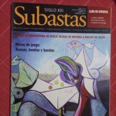Arte: SUBASTA SIGLO XXI N° 75.. Lote 234359285