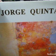 Arte: JORGE QUINTÁ 1998 CICCA LAS PALMAS DE GRAN CANARIA PINTURAS FOTOS A COLOR BIEN CONSERVADO. Lote 235242925